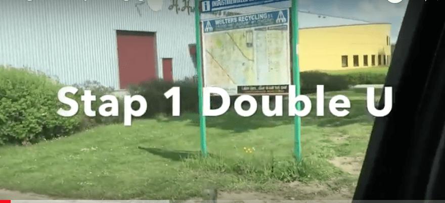 Op weg gaan – Stap 1 Double U