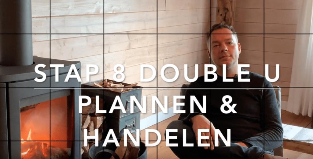 Plannen en handelen – Stap 8 Double U Model